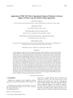 Application of WRF 3DVAR to operational typhoon prediction in Taiwan: Impact of outer loop and partial cycling approaches