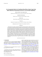 Ice concentration retrieval in stratiform mixed-phase clouds using cloud radar reflectivity measurements and 1D ice growth model simulations