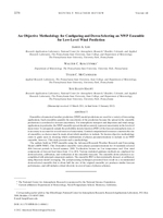 An objective methodology for configuring and down-selecting an NWP Ensemble for low-level wind prediction