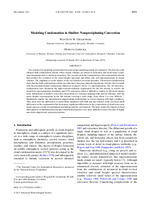 Modeling condensation in shallow nonprecipitating convection