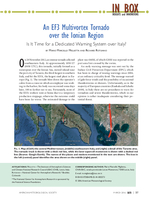 An EF3 multivortex tornado over the Ionian region: Is it time for a dedicated warning system over Italy?