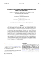 Investigation of the residual in column-integrated atmospheric energy balance using cloud objects