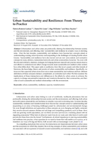 Urban sustainability and resilience: From theory to practice