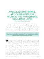 Assessing state-of-the-art capabilities for probing the atmospheric boundary layer: The XPIA field campaign