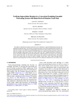 Verifying supercellular rotation in a convection-permitting ensemble forecasting system with radar-derived rotation track data