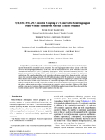 CAM-SE-CSLAM: Consistent coupling of a conservative semi-Lagrangian finite-volume method with spectral element dynamics