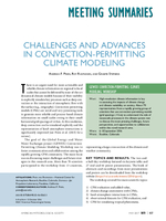 Challenges and advances in convection-permitting climate modeling