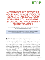 A containerized mesoscale model and analysis toolkit to accelerate classroom learning, collaborative research, and uncertainty quantification