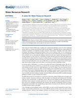 A vision for Water Resources Research