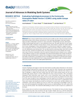 Evaluating hydrological processes in the Community Atmosphere Model Version 5 (CAM5) using stable isotope ratios of water