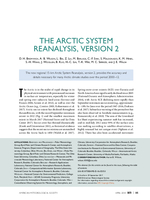 The Arctic System Reanalysis, Version 2
