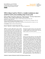 MPAS-Albany Land Ice (MALI): A variable-resolution ice sheet model for Earth system modeling using Voronoi grids