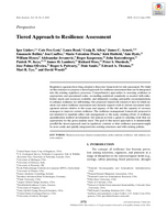 Tiered approach to resilience assessment