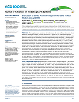 Evaluation of a data assimilation system for land surface models using CLM4.5