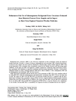 Refinement of the use of inhomogeneous background error covariance estimated from historical forecast error samples and its impact on short-term regional numerical weather prediction