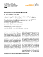 Description and evaluation of the Community Ice Sheet Model (CISM) v2.1