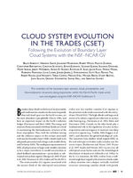 Cloud System Evolution in the Trades (CSET): Following the evolution of boundary layer cloud systems with the NSF–NCAR GV