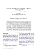 Hybrid mass coordinate in WRF-ARW and its impact on upper-level turbulence forecasting