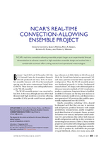 NCAR's real-time convection-allowing ensemble project