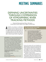 Defining uncertainties through comparison of atmospheric river tracking methods