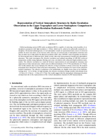 Representation of vertical atmospheric structures by radio occultation observations in the upper troposphere and lower stratosphere: Comparison to high-resolution radiosonde profiles