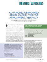 Advancing unmanned aerial capabilities for atmospheric research