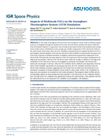 Impacts of multiscale FACs on the ionosphere‐thermosphere system: GITM simulation