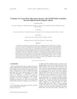 Evaluation of a linear phase observation operator with CHAMP radio occultation data and high-resolution regional analysis