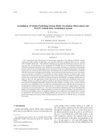 Assimilation of global positioning system radio occultation observations into NCEP's Global Data Assimilation System