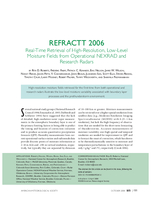 REFRACTT 2006: Real-time retrieval of high-resolution, low-level moisture fields from operational NEXRAD and research radars