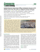 Updated emission factors from diffuse combustion sources in sub-Saharan Africa and their effect on regional emission estimates