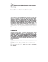 Emerging numerical methods for atmospheric modeling