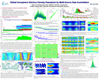 Global ionospheric electron density reanalysis by multi-source data assimilation [poster]