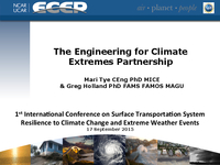 The Engineering for Climate Extremes Partnership [presentation]