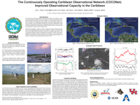 The Continuously Operating Caribbean Observational Network (COCONet): Improved observational capacity in the Caribbean [poster]