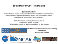 10 years of MOPITT reanalysis [presentation]