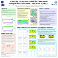 Clear-sky performance of MOPITT retrievals using MODIS collection 6 Cloud Mask products