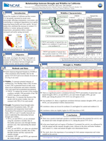 Assessing the association of drought to wildfire in California
