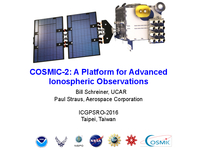 COSMIC-2: A platform for advanced ionospheric observations