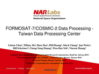 FORMOSAT-7/COSMIC-2 data processing - Taiwan Data Processing Center