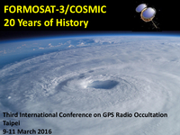 FORMOSAT-3/COSMIC: 20 years of history
