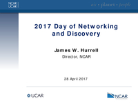 Introduction to the NCAR Day of Networking and Discovery 2017 [presentation]