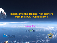 Insight into the tropical atmosphere from the NCAR Gulfstream V [presentation]