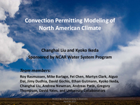 Convection permitting modeling of North American climate [presentation]
