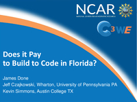 Does it pay to build to code in Florida? [presentation]