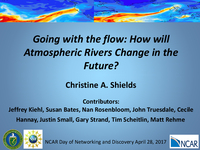 Going with the flow: How will atmospheric rivers change in the future? [presentation]