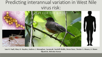 Predicting interannual variation in West Nile virus risk: Is it for the birds? [presentation]