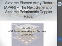 Airborne phased array radar [presentation]