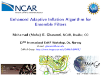 Enhanced adaptive inflation algorithm for ensemble filters