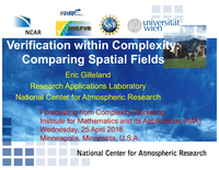 Verification within complexity: Comparing spatial fields